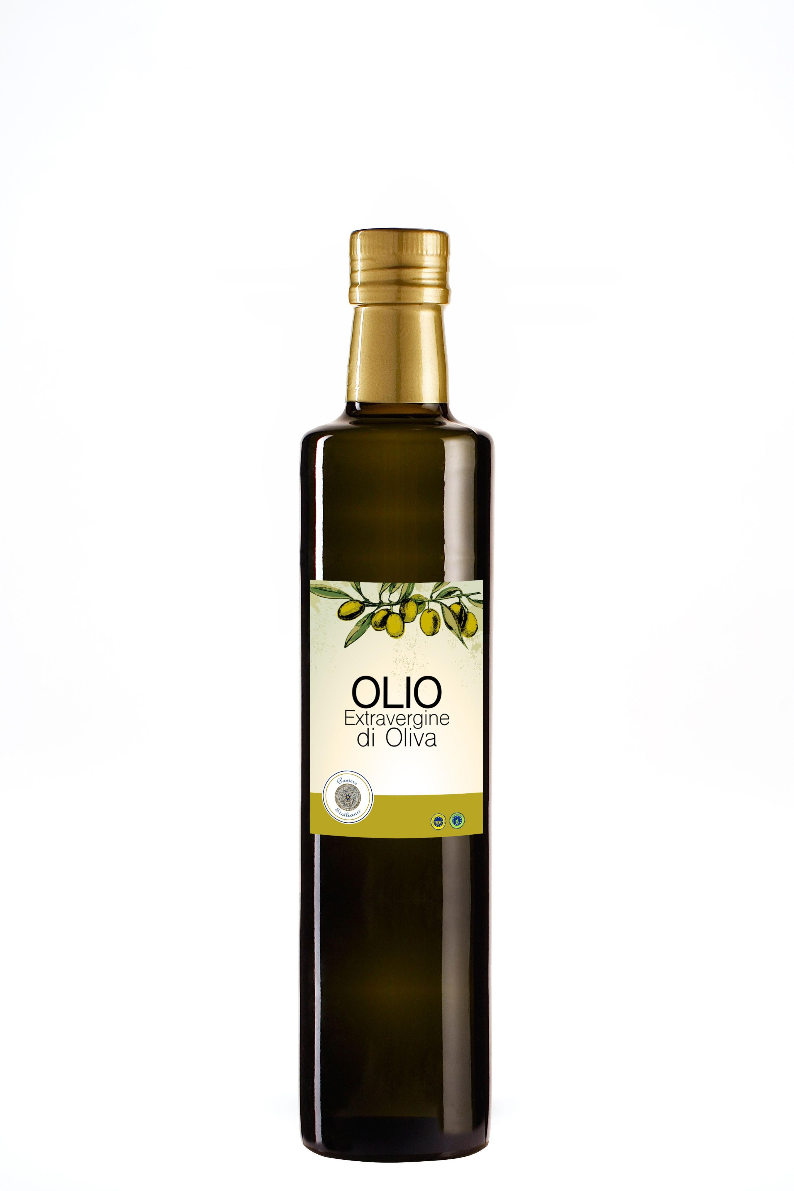 Extra Virgin Olive Oil Paniere Siciliano