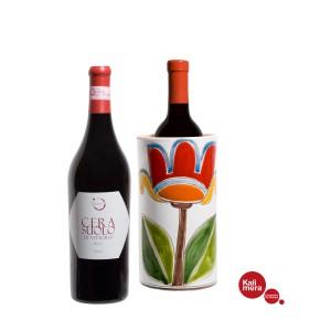 Ceramic Bottle holder and Cerasuolo