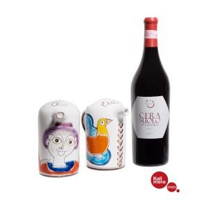 Ceramic Oil And Vinegar Bottle Set and Cerasuolo